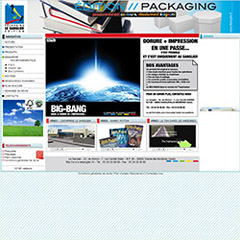 Le site internet de l'Agence Le Sanglier packaging edition